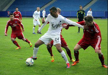 Youssef Toutouh spillede 2. halvleg. Foto: FCK.dk